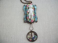 Assemblage NecklaceFrozen Charlotte in the by AnnieLorraine, $25.00