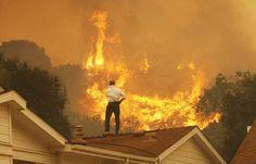 El Incendio Se Apodera De Calabasas California