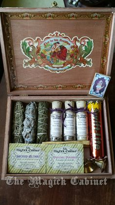 NEW in the shop just in time for Mother's Day! The Most Amazing Smudge Kit, Smoke Clearing, Meditation, Pagan, Wiccan, Clearing, Protection, Psychic, Ritual Kit, Witches Box, Altar Kit, by TheMagickCabinet on Etsy