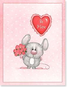 Valentine's Day Note Card Set - Be Mine | Shelly Comiskey | 92244 | Leanin' Tree