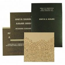Beautiful 'Laser Cut Wedding Invitations' are trendy in 2019 weddings. Lay your eyes on these gorgeous laser cut invitations and feel mesmerized. Indian Wedding Receptions, Wedding Mandap, Wedding Ring Designs, Wedding Card Design, Wedding Ideas, Card Wedding, Wedding Rings, Peach Wedding Invitations, Wedding Stationery