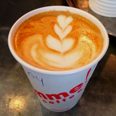 hearts and coffee. Doesn't get much better than that :-)