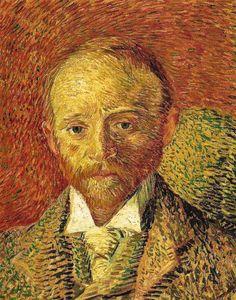 Vincent van Gogh - Portrait of Alexander Reid, 1887