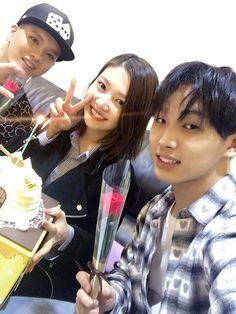Sungjoyfamily: 160412 Hyunsik Twitter Update with Joy & Peniel