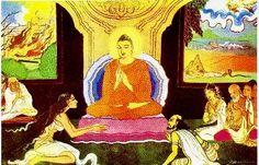 Az élet szenvedés (Unsatisfactoriness of life)  Forrás: http://www.beyondthenet.net/buddha/gallery/desc11a.htm