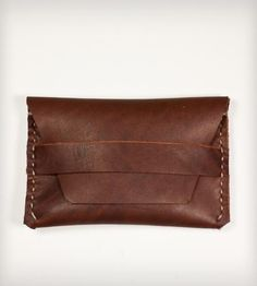 Leather Flap Wallet | Men's Accessories | KMM Leather | Scoutmob Shoppe | Product Detail