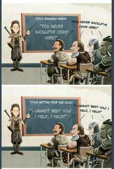 Skyrim school for bandits. Omg dying XD