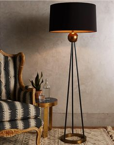 Here Are 20 Modern Lighting Ideas To Bring Your Home Into The Century Triangulate Floor Lamp En Diy Floor Lamp, Modern Floor Lamps, Best Floor Lamps, Interior Lighting, Modern Lighting, Lighting Ideas, Lighting Design, Luminaire Design, Bedroom Lamps