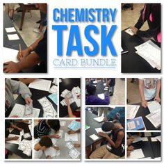 Challenge your students to learn the fundamentals of Chemistry! Included in this bundle is 3 different sets of task cards with 104 unique questions. These cards are great for review, rotations, partner work, or independent study.