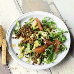 Avocado-Linsen-Salat Rezept | Küchengötter