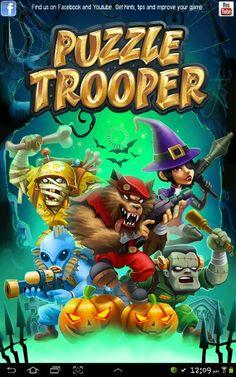 Puzzle Trooper Halloween Special {video}