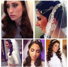 How excited are you that it's #Thursday? ❤️ To celebrate, here are a few of #WeddingHairBySorahYaffa's #gorgeousbrides! Happy #ThrowBackThursday! 😘
