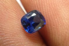 Natural Ceylon Blue Sapphire. Untreated 0.70Cts.