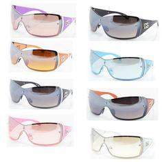 DG Women Eyewear Fashion Designer Sunglasses Shades Shield One Lens NEW 9003 | eBay
