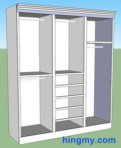 Fantastic built in wardrobes sydney storage solutions sydney building a built in closet or storage cabinet or pantry interactive designer to customize and print plans and materials list solutioingenieria Images