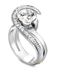 rose shaped ring - Google Search