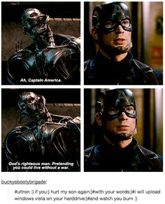 And Steve is a precious bab who we must protect at all costs.   23 Times Tumblr's Love For Captain America Was All Of Us