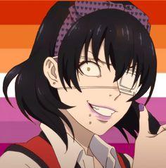Miyuki Sawashiro, Boca Anime, Lgbt Anime, Wallpaper Animes, Hottest Anime Characters, Lgbt Flag, Flag Icon, Animes Yandere, Lesbian Pride