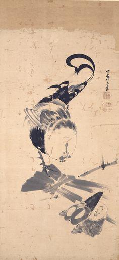 群鶏図屏風 伊藤若冲筆 4