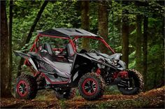 New 2017 Yamaha YXZ1000R SS SE ATVs For Sale in Washington. 2017 Yamaha YXZ1000R SS SE, SHIFTY GOOD LOOKS The YXZ1000R SS SE shifts the pure sport Side-by-Side class to another level with fully adjustable FOX 2.5 Podium X2 shocks, bead lock wheels, eye-catching color scheme and more. Features Additional Features 300-POUND CARGO CAPACITY: Bring what you need thanks to a composite cargo bed with a 300-pound capacity and four steel tie-down points. A sealed compartment next to the cargo bed and…