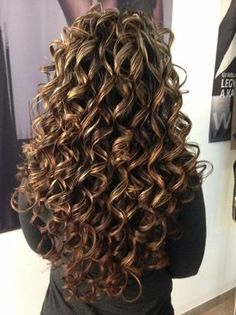 Curly Hair Styles, Ombre Curly Hair, Brown Ombre Hair, Curly Hair Care, Long Curly Hair, Wavy Hair, New Hair, Natural Hair Styles, Curly Perm