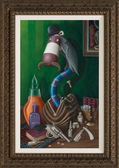 Peter Smith. Agatha`s Watson Wriggler.Bloodlines Collection.Washington Green,Leicester,Trident Galleries,Peter Smith.Fine Art,Trident galleries,Peter Smith,