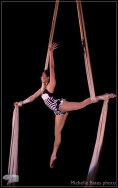 Vertical Stripe Aerial Costume Black And White Leotard Bodysuit Custom Trapeze Costume Made To Order - Dance Leotards Aerial Dance, Aerial Hammock, Aerial Acrobatics, Aerial Hoop, Aerial Arts, Arial Silks, Silk Dancing, White Leotard, Aerial Costume