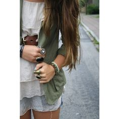 Khaki jacket ❤ liked on Polyvore featuring outerwear, jackets, pictures, outfits, people, photo, backgrounds and khaki jacket