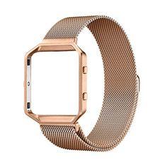 Fitbit Blaze Accessories Band Large, UMTele Rugged Metal ... http://www.amazon.com/dp/B01E5GABLW/ref=cm_sw_r_pi_dp_k2esxb1A7STRM