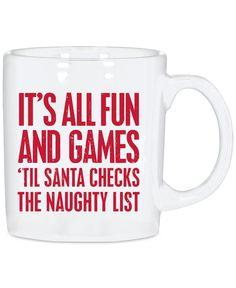 Fleece Navidad Cute Holiday 11oz Coffee Mug Cup- Funny Christmas ...