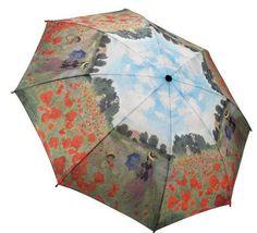 Poppy Field Folding Umbrella. This Poppy Field Folding stick umbrella is functional and fashionable. Super Mini Umbrella. Auto Open/Close. 100% Pongee Cover.