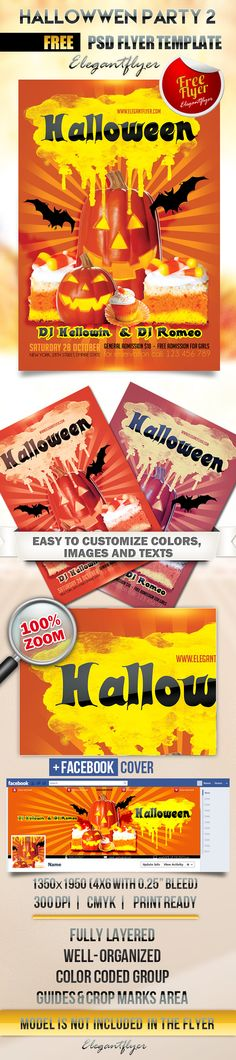 Hallowwen party 2 – Flyer PSD Template + Facebook Cover https://www.elegantflyer.com/free-flyers/hallowwen-party-2-flyer-psd-template-facebook-cover/