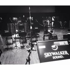 #throwbackthursday #tbt #Recording #jermainestegall @jermainestegall @skywalkersound @sundanceinstitute