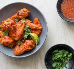 Sriracha Chicken Wings Recipe | http://aol.it/1ltITiI