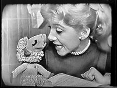 One of my favorite shows was The Shari Lewis Show. Here she is with Lamb Chop. Her original show ran from 1960 to but she had many subsequent shows that ran until the late My Childhood Memories, Sweet Memories, Shari Lewis, Photo Vintage, Vintage Tv, This Is Your Life, Old Shows, Lamb Chops, Classic Tv