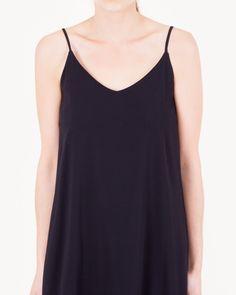 Slip Dress in Black