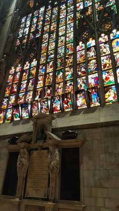 Milan 19- More awesome stained glass.
