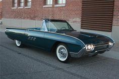 1963 FORD THUNDERBIRD CONVERTIBLE - Barrett-Jackson Auction Company - World's Greatest Collector Car Auctions