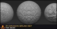 Zbrush Brushes From Michael Dunnam