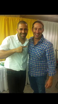 "Celebrity Landscaper, Ahmed ""Ahmad"" Hassan of DIY's Yard Crashers & HGTV fame.  Green Expert. Inspirational. Writing a new book, More Than A Landscaper. #TeamAhmed (photo with Josh Temple)"