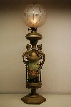 Antique Oil Lamps, Antique Glass, Solar Shades, Kerosene Lamp, Solar Lamp, Lantern Lamp, Aesthetic Movement, Prop Design, Glass Containers