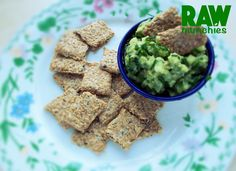 Raw Vegan Mini Flax Crackers | Rawmunchies.org | Raw Vegan Recipes rawmunchies.org/mini-flax @veganrecipehour @TheVeganSociety @Tweets4Vegans @VeganNewsNet @worldofvegan @vegan #cracker #flax #glutenfree #Raw #rawvegancrackers #rawvegan #rawvegan recipe #snack #vegan #vegancracker #vegansnack Raw Vegan Recipes, Apple Cider Vinegar, Crackers, Guacamole, Gluten Free, Stuffed Peppers, Snacks, Ethnic Recipes, Website