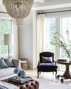Captivating We Have A New Blog Post With Accent Chairs Today! #POelmhurstproject Classic  Living Room