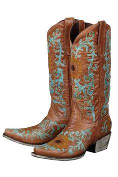 Lane Women's Sunflower Cowgirl Boots