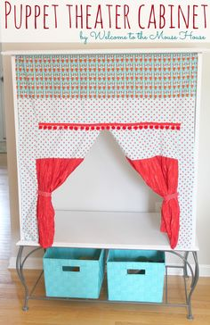 Hayley's Puppet Theater Cabinet — Sew Can She | Free Daily Sewing Tutorials