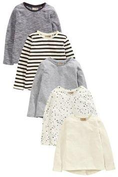 Next:日本で今すぐオンラインショッピング: マルチ長袖 Tシャツ 5 枚パック (3 か月~6 歳) Next:日本