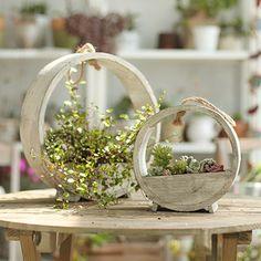 NCYP Forest Fairy Garden Miniature Stump Sweet House Flower Pot Treehouse Sculpture Planter Multilayer for Decoration No Plants
