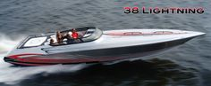 New 2012 Fountain Boats 38 Lightning High Performance Boat Fountain Powerboats, Fountain Boats, High Performance Boat, Offshore Boats, Fast Boats, Boat Covers, Yacht Boat, Power Boats, Wakeboarding