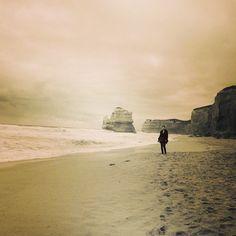 #greatoceanroad #12apostles #blackwhite #photography #sunset #ocean #beach #lonelyhour #togoodtobetrue #throwback #sand #nature #melbourne #australia @seeaustralia @beautifuldestinations #travel by maryoshemkova http://ift.tt/1ijk11S