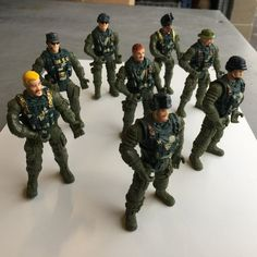 1:18 Scale SPECOPS Soldiers and Weapons